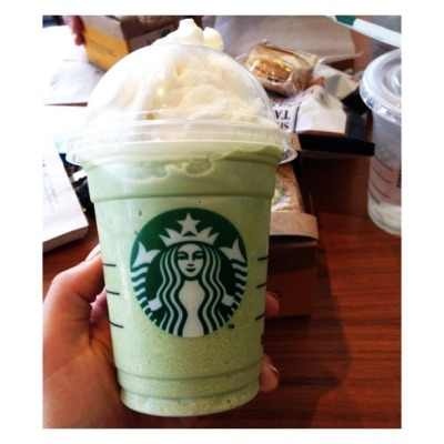 hal-iii:  Green tea frapppp👌