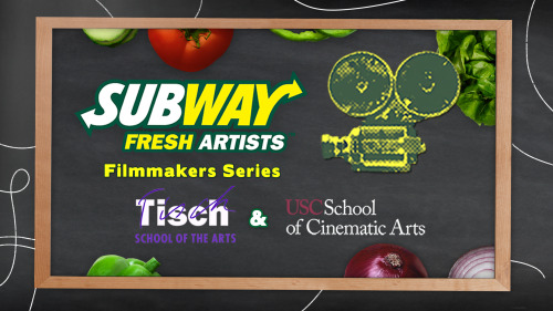 Check out this year's Subway Fresh Artists Filmmakers from USC!