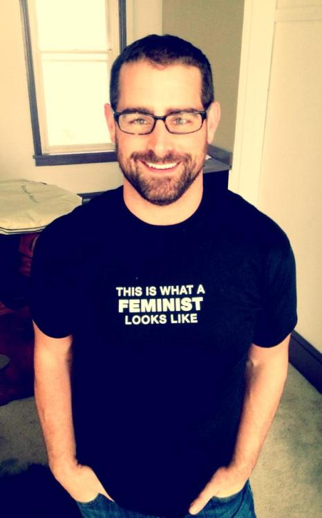 guyswithglasses:  This is what a feminist looks like.