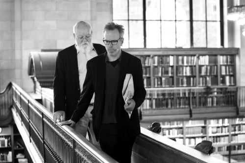 Daniel Dennett and Jim Holt on a tour of the NYPL before their LIVE show this past Wednesday! Check out more LIVE shows here
