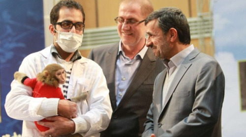 Ahmadinejad says he wants to be Iran's first human in space After last week's allegedly successful monkey launch, Iranian president makes bold declaration