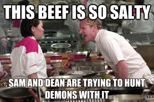 "Salty ""Demon Hunting"" Beef"