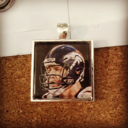 Oh yeah and Peyton Manning pendant. Very productive game.