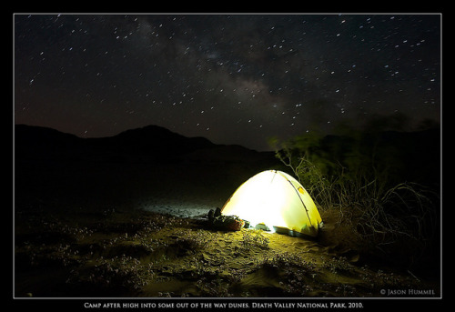 Night Skies Over Camp by Jason Hummel Photography on Flickr.Death Valley National Park
