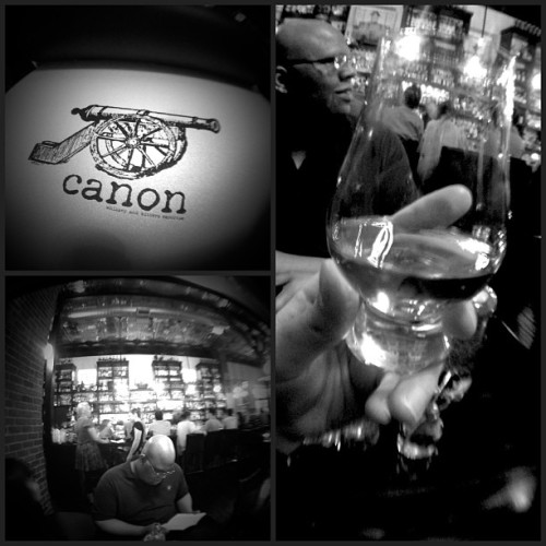 Having a $46 glass of Whisky. #fancy #noirstagram  (at Canon)