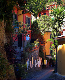 visitheworld:  Ligurian colours, Portofino, Italy (by Sergiom).