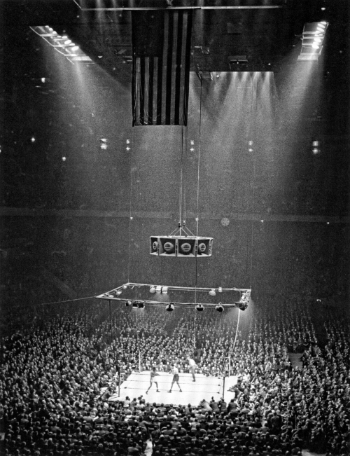 Joe Louis vs. Jersey Joe Walcott at Madison Square Garden Photo by Andreas Feininger, 1947