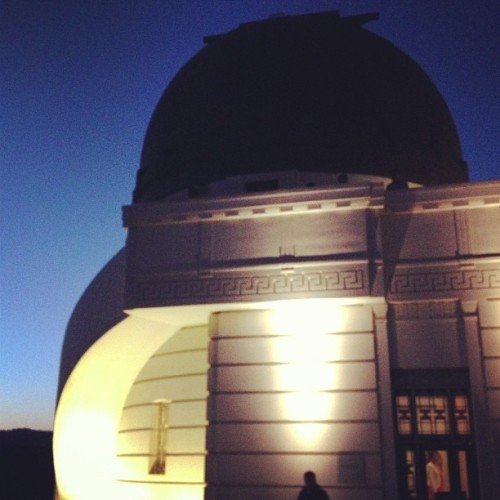 #griffith #observatory #la #losangeles #silhouette @serpenthes  (at Griffith Observatory)