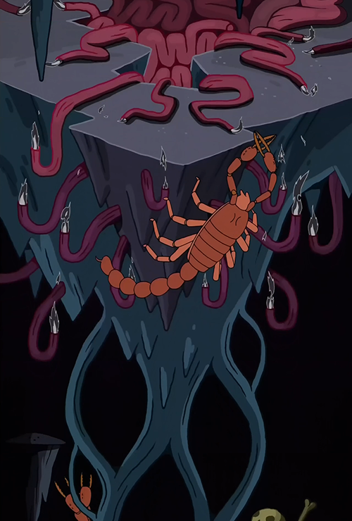 "adventuretime:  This ""Death in Bloom"" pan background was designed by Mr Jesse Moynihan. Great stuff. Thanks to Final Ellipsis for putting this together."