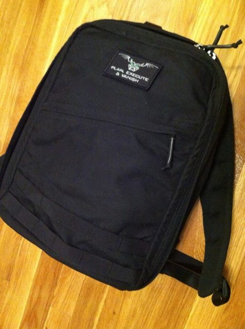 "redteams:  Up for a raffle a GORUCK Radio Ruck with the ""Plan, Execute & Vanish"" Patch. Money raised will go to help the widow and son of my friend, J, killed in Afghanistan last year. We are aiming to finish paying her medical bills. We are almost there with the raffles that I and the other members of the team put together last month. Here's the deal, buy the tickets by sending the amount as gift to paypal at mr.aleph@gmail.com 1 ticket $5 3 tickets $10 5 tickets $20 50 tickets $150 100 tickets $250 I'll draw the winner when we reached the amount we need. Please spread the word quietly. Thank so much! There is also an auction for the patch alone."