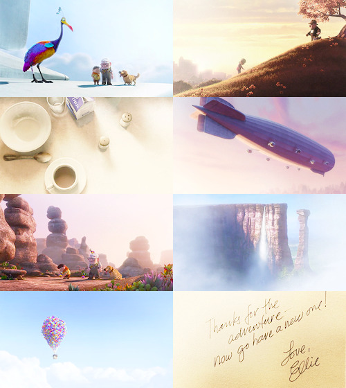 "favorite pixar movies [4/5]: Up ""Adventure is out there!"""