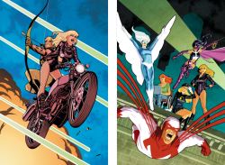 Green Arrow/Black Canary #6  |  Birds of Prey #1 (Variant)