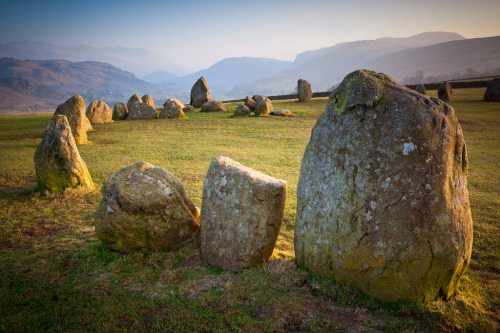 wanderthewood:   Castlerigg stone circle, Lake District, England by Tall Guy