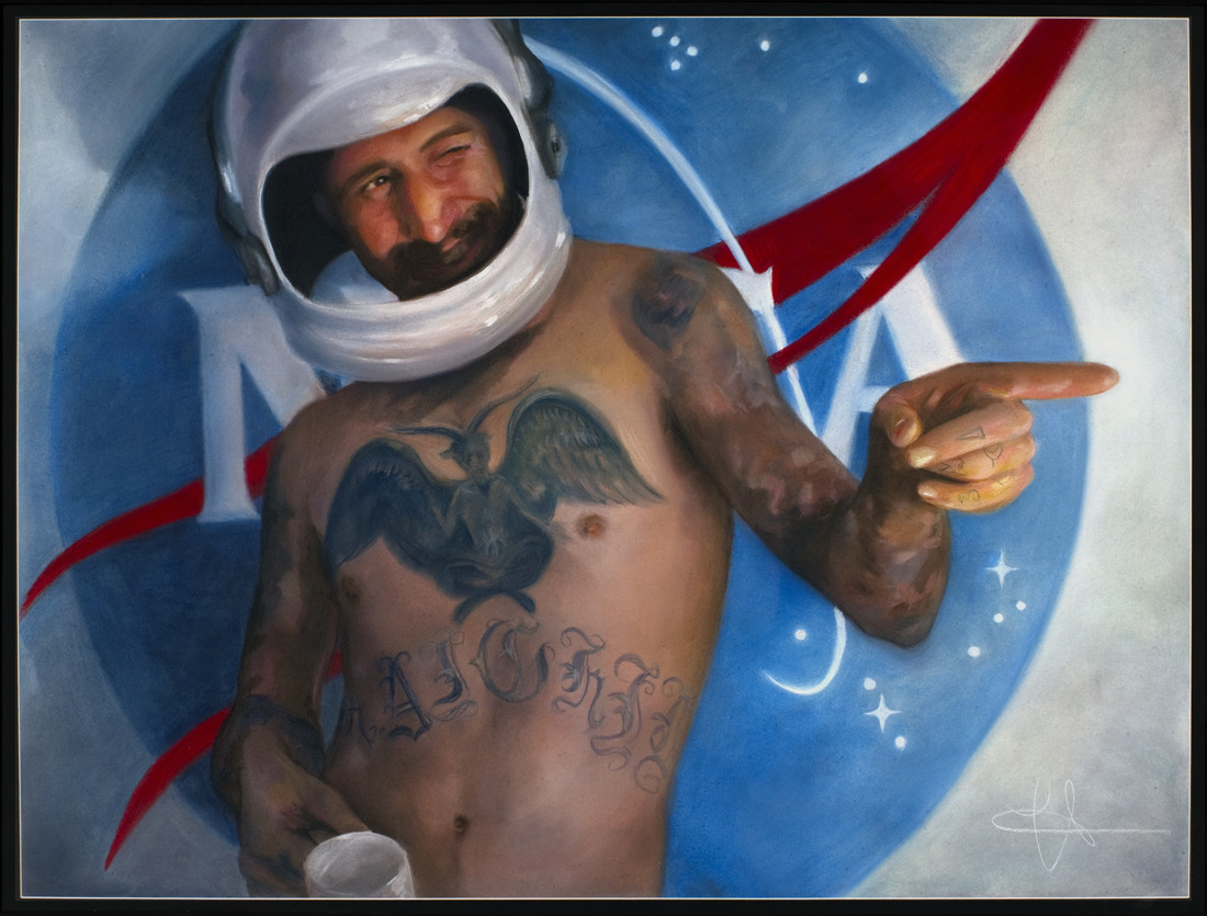 """Space Cowboy"" - Heather McMillen"