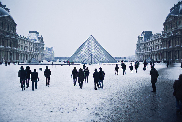 thecozythings:  musee du louvre by Jacqueline Harriet on Flickr.