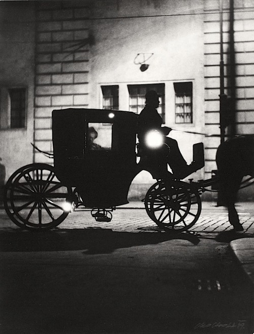 Václav Chochola Horse-drawn Cab / Fiakr, 1949 From Archiv B&M Chochola