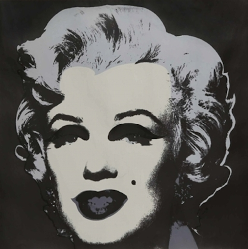 Marilyn Iconic: Andy Warhol's 1967 portrait, Marilyn.