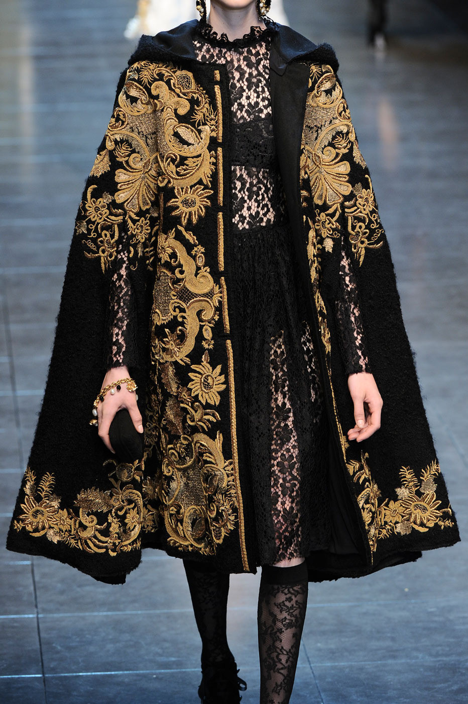 glitterina:    Dolce & Gabbana at Milan Fashion Week Fall 2012
