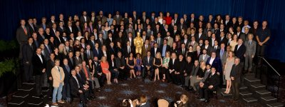 85th Academy Awards Nominee Luncheon - Oscar Class of 2012 - February 4, 2013 (Our man CHRISTOPH can be seen top row, 8th gentleman from the right….)
