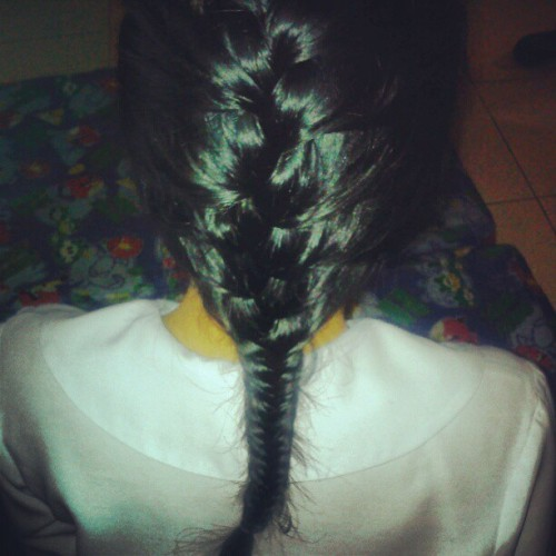 Practice practice din :) #Braid #FishBone