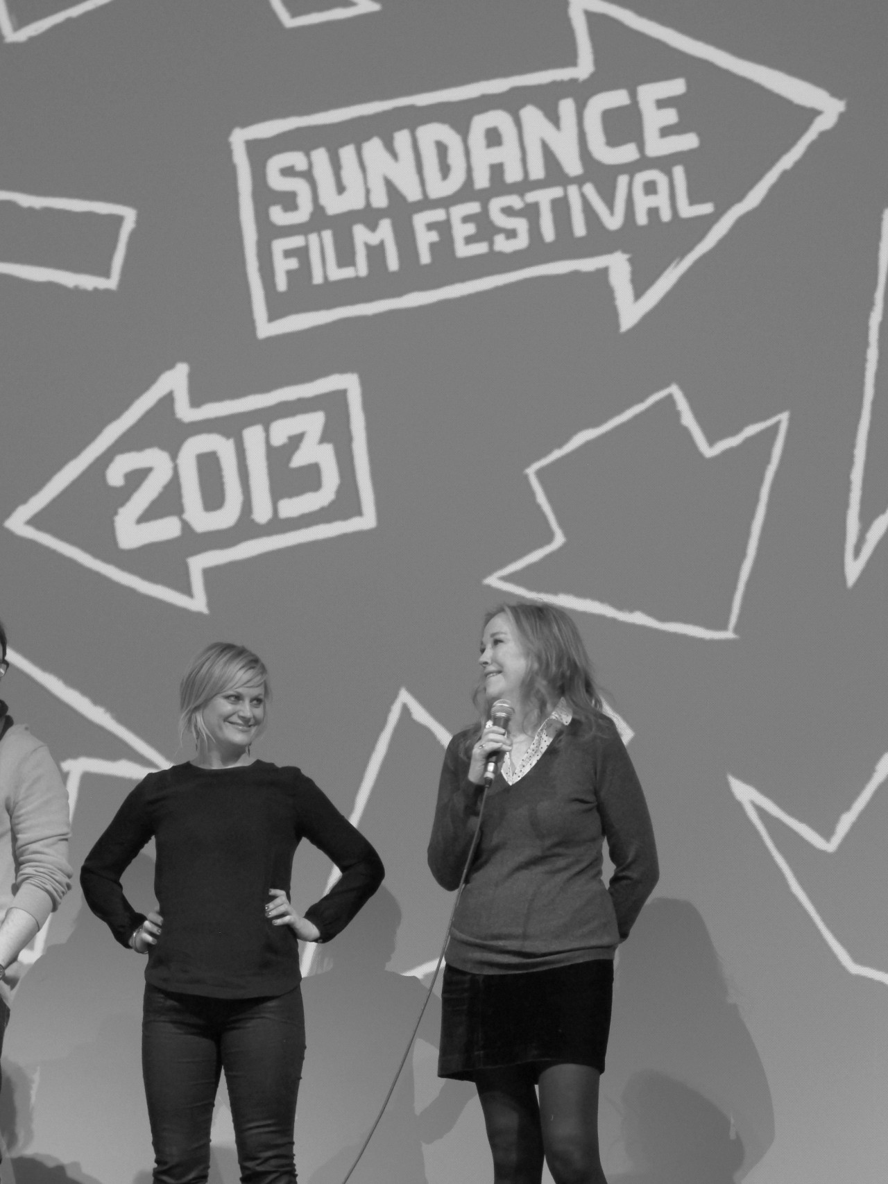 "Sundance Premiere: ACOD We all worship Amy Poehler, but who does she worship? At the premiere for A.C.O.D. which The Inside Source attended, Amy told us ""it was such a dream come true to get to play with Catherine [O' Hara]. We agree and have been obsessed with Catherine since her SCTV days. In the film, Amy plays the new bitchy trophy wife of Catherine's ex-husband. ""It was really fun to play such a bitch"" said Amy. The indie A.C.O.D. (which stands for ""Adult Children of Divorce"") plays in the spirit of Flirting with Disaster with jabs on the neurosis of divorce. The stellar cast also included Adam Scott, Richard Jenkins, Mary Elizabeth Winstead, Clark Duke, Ken Howard, Jessica Alba, and Jane Lynch.  (Talent: Amy Poehler and Catherine O' Hara. Photo and Text by Jauretsi)"