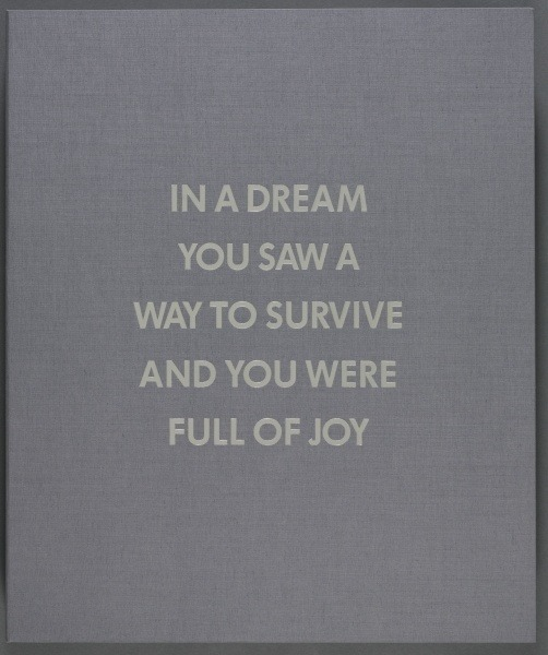 Jenny Holzer, from the Survival series (1983-85).