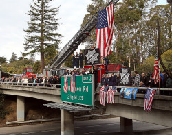 Sad day. (via Santa Cruz police officers remembered in mega memorial - Santa Cruz Sentinel)