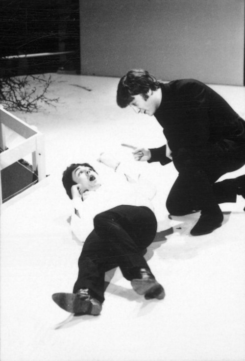 John: Paulie, I do believe it is much past your bedtime; what are you doing awak— Paul: OMG nOTHING, MOM!!!!!!!! get off my case!!!!!!!!!!!!!!!
