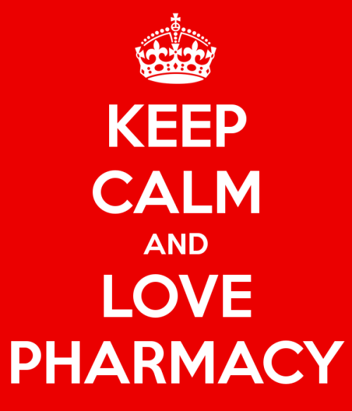 jurnalramadhan:  srahayuwidyan:  yes, keep calm and LOVE PHARMACY !  B-)