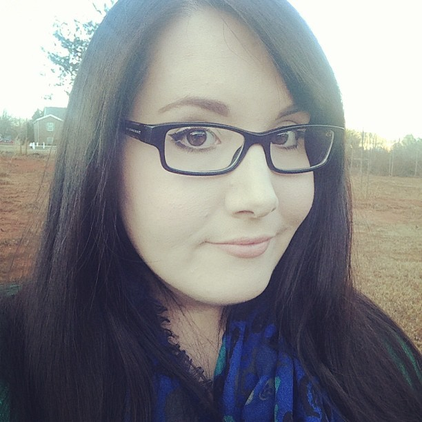 I don't look amused to be walking the dog in the cold. #gpoy #selfie