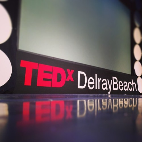 And that's a wrap from #TEDxDelrayBeach - quite the experience. You are what you allow yourself to be exposed to. Think differently.  (at Old School Square)