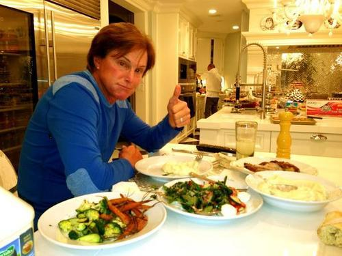 We're with Bruce because he like's food too. Click here to find out why else we're rooting for him! Kourtney and Kim Take Miami: I'm Team Bruce (Photo from KardashianKuties.tumblr.com)