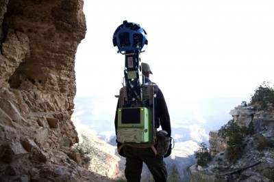 Google Street View in the Grand Canyon!!