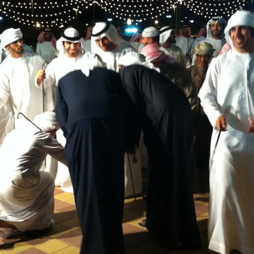 عرس أحمد الكعبي #uae #alain #wedding (at Hili Wedding Hall)