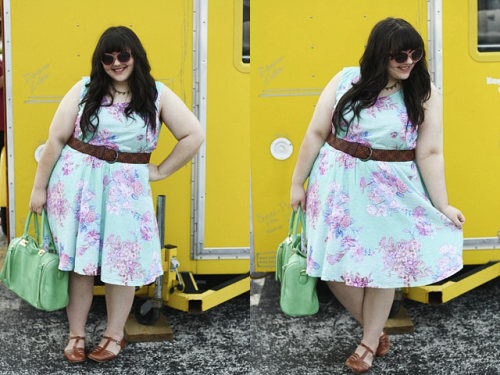 I am totally loving how Mandy of Miss Indie crafted up this look around the Beachfront Bungalow Dress. This adorable floral dress, ranging from S-4X, is perfect if you are getting snow cones like Mandy or spending a weekend at the beach with friends. Where would you rock your floral frocks? <3 Kelly, ModStylist Need styling suggestions, trend tips, or dress details? Ask a ModStylist and your question might be featured on our feed!