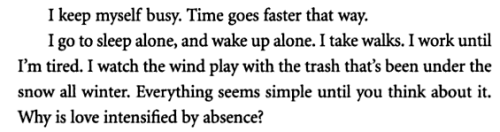 aseaofquotes:  Audrey Niffenegger, The Time Traveler's Wife