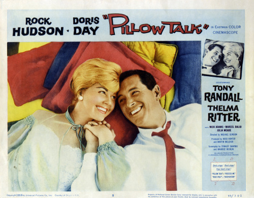 #440 - Pillow Talk (1959, USA) 6 / 10 Fun rom-com with all the sexism we've come to expect from the '50s.