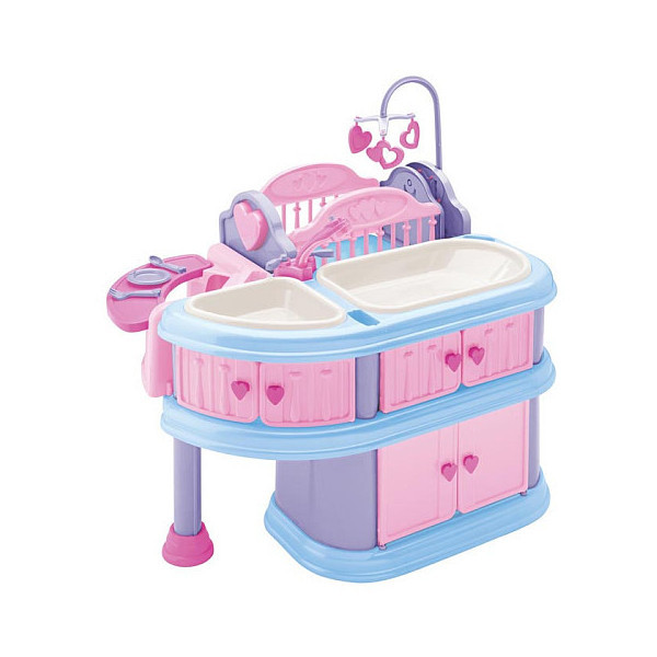 Doll 10-Piece Care Center - FAO Schwarz®   (clipped to polyvore.com)