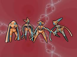 Favorite Legendary Pokemon :3 Deoxys!