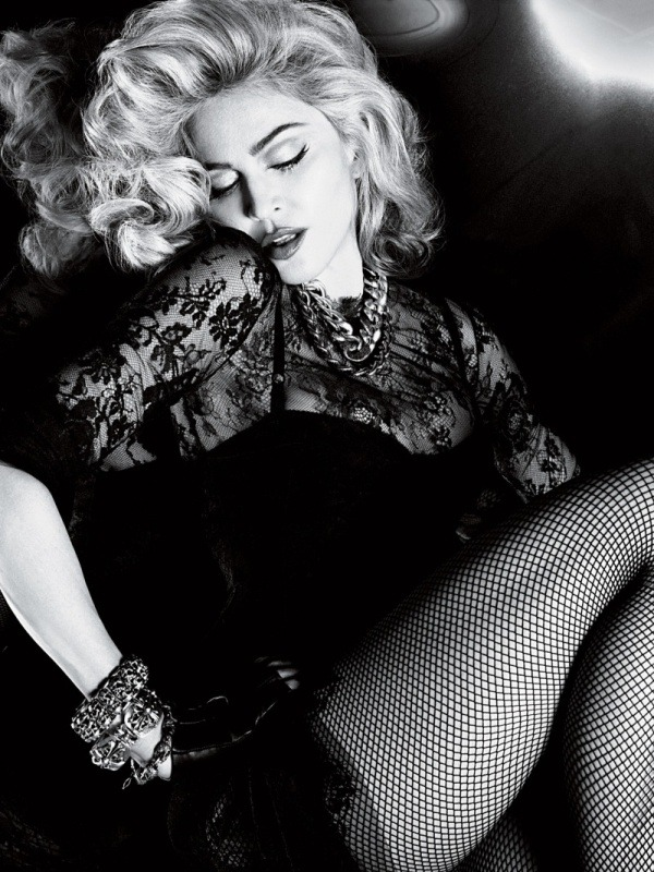 Madonna photographed by Mert and Marcus for Interview, June 2010