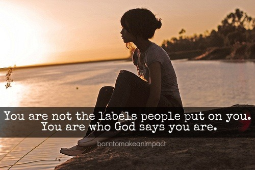 ibibleverses:  You are who God says you are…Follow us at http://gplus.to/iBibleverses