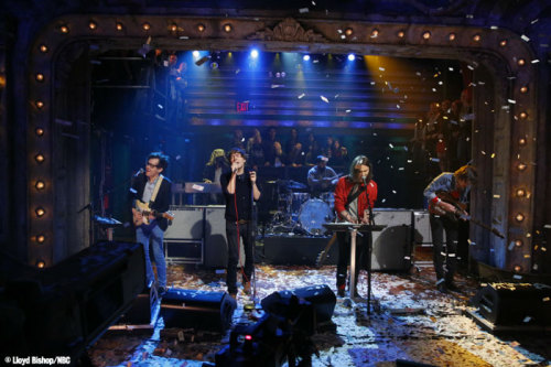 Love this shot of Phoenix performing on the show this week. Here are the full performances: The Real Thing Trying To Be Cool (Web Exclusive)