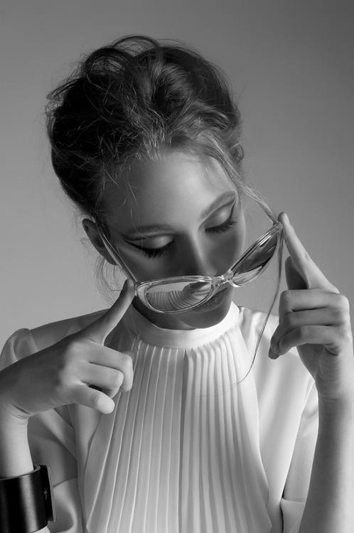 Danielle Weaver Wears Saint Laurent & Dior Sunglasses ByMaria Sumina