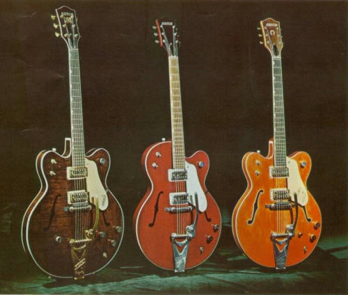 Country Gentleman, Tennessean, Hollow Body, respectively