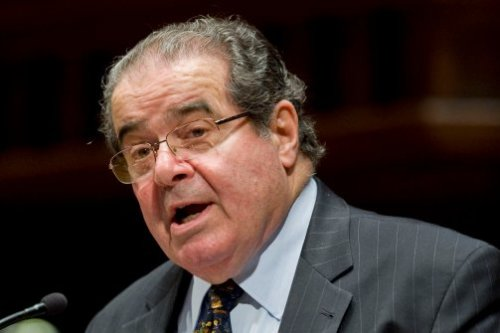 "Justice Antonin Scalia is in hot water after comparing laws against homosexuality to laws against murder (which he later walked back). But this isn't the first time he's sparked controversy on the subject. Back in 2004, Scalia was participating in a panel discussion at NYU Law School when the subject of his famously scathing dissent in Lawrence v. Texas, a case about laws criminalizing sodomy (Scalia wrote in dissent, i.e. for keeping anti-sodomy laws legal) came up.     When the time came for audience questions, a student named Eric Berndt stood up in the packed auditorium and pressed Scalia to explain his dissent, particularly his opinion as to whether it was constitutional for the government to peer into the bedrooms of consenting adults and punish them for what goes on in there. When Scalia did not answer to the student's satisfaction, Berndt asked him, ""Do you sodomize your wife?""     And Scalia was all like… (Photo: Jessica Hill / AP Photo)"