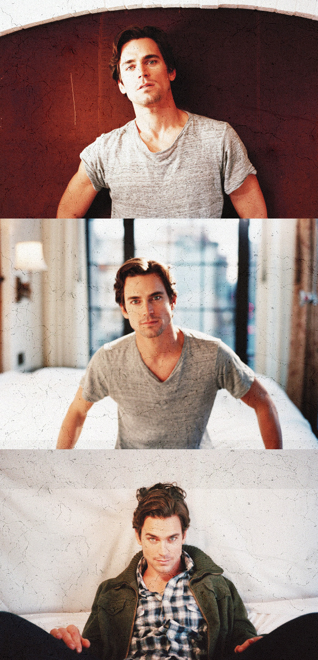 unicornitify:  Matt Bomer, more like Matt Boner.