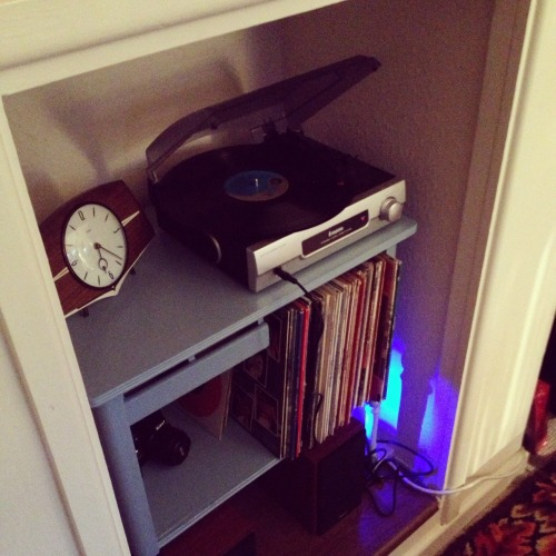My new record alcove.