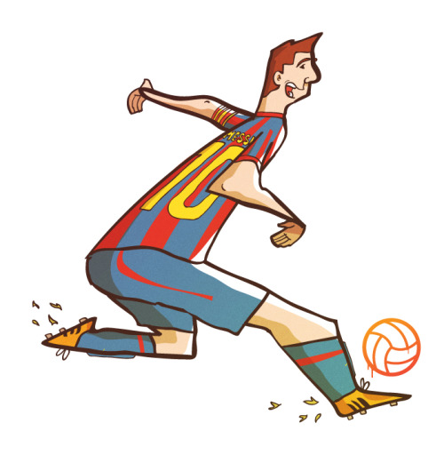 Just a quick doodle of Messi Shop / Twitter