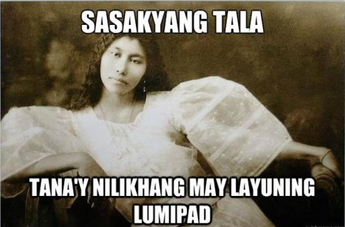 Sasakyang tala, Before Nicki Minaj and Starship was cool.