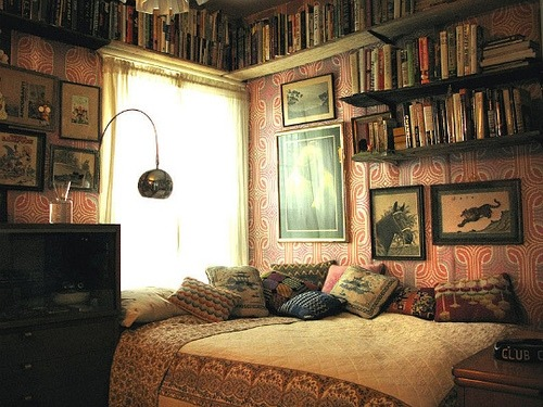 library in my bed room..